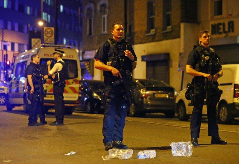 La police a été déployée autour de la mosquée et le quartier a été bouclé. D. R.