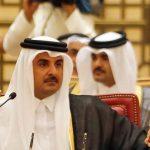 Sale temps pour l'émir du Qatar. D. R.