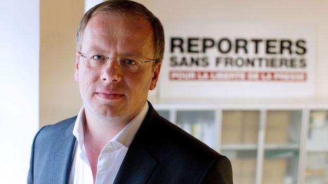 Le directeur général de Reporters sans frontières, Christophe Deloire. D. R.