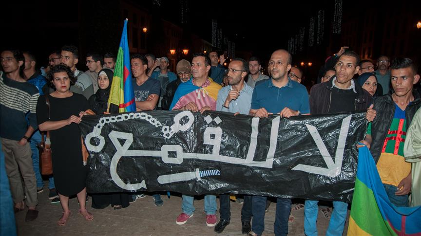 Les Marocains du Rif en colère