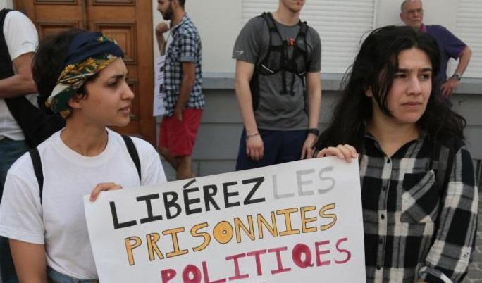 Les manifestations de soutien aux Rifains opprimés se multiplient à travers le monde. D. R.