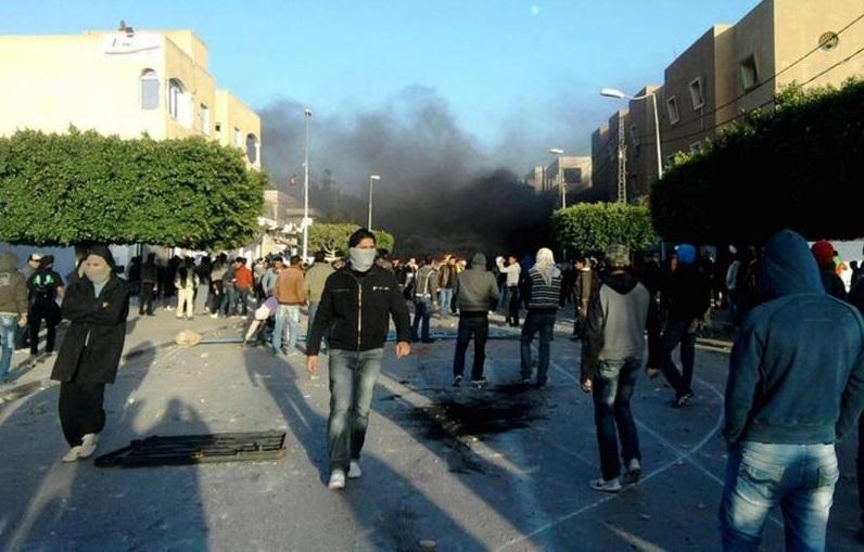 Tunisie émeutes