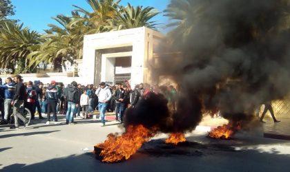 Tunisie : mort d'un policier dans des affrontements