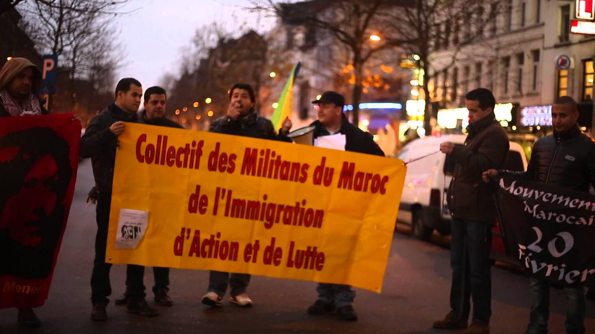 La diaspora marocaine se solidarise avec les Rifains et souhaite la fin de la monarchie. D. R.