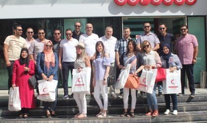 Célébration de l'Aïd El-Fitr: Ooredoo et le CRA au chevet des enfants hospitalisés