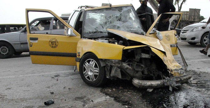 Toujours trop d'accidents mortels sur les routes. New Press