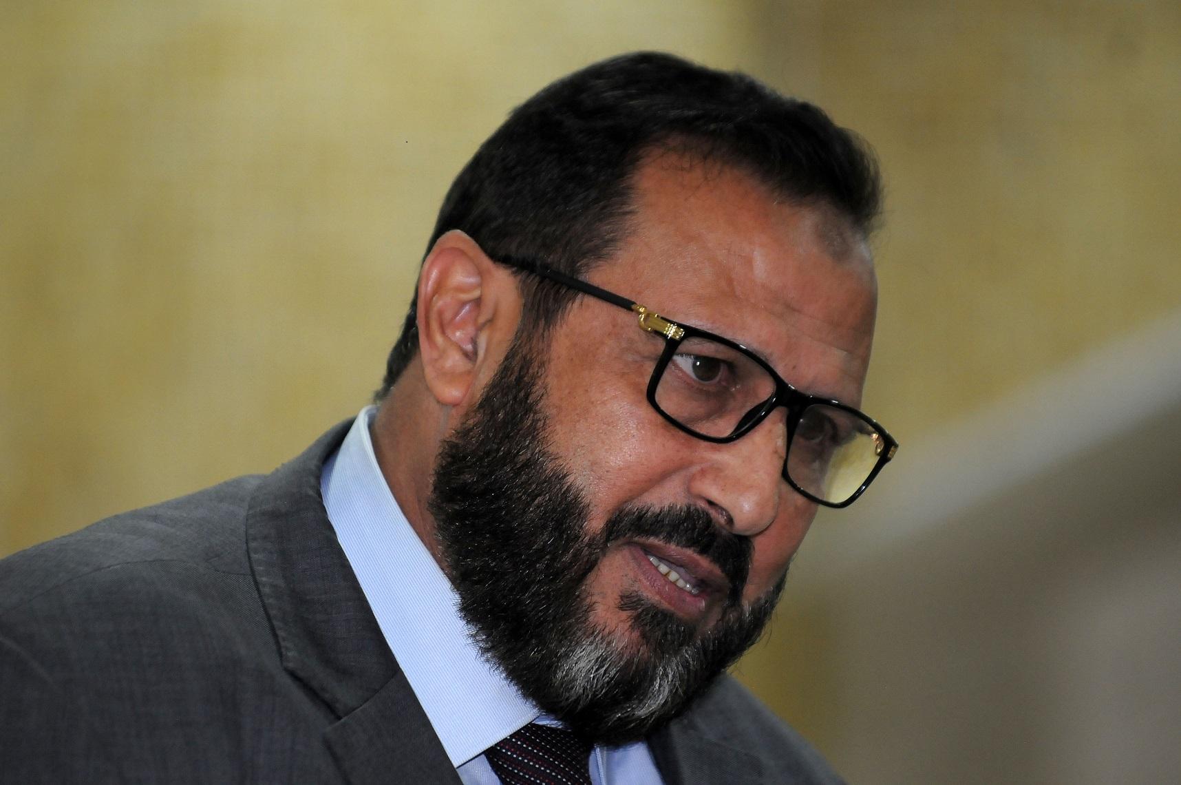 Hassan Aribi, député élu à Alger sur la liste Ennahda, Adala et Bina. New Press