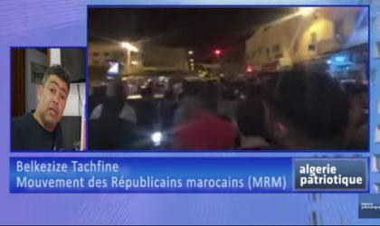 Interview du militant républicain marocain Belkezize Tachfine à Algeriepatriotique