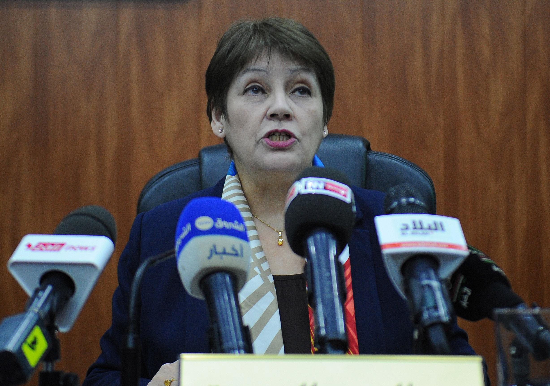 La ministre de l'Education nationale, Nouria Benghebrit. New Press