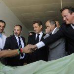 Cameron, Sarkozy, Clinton, Libye