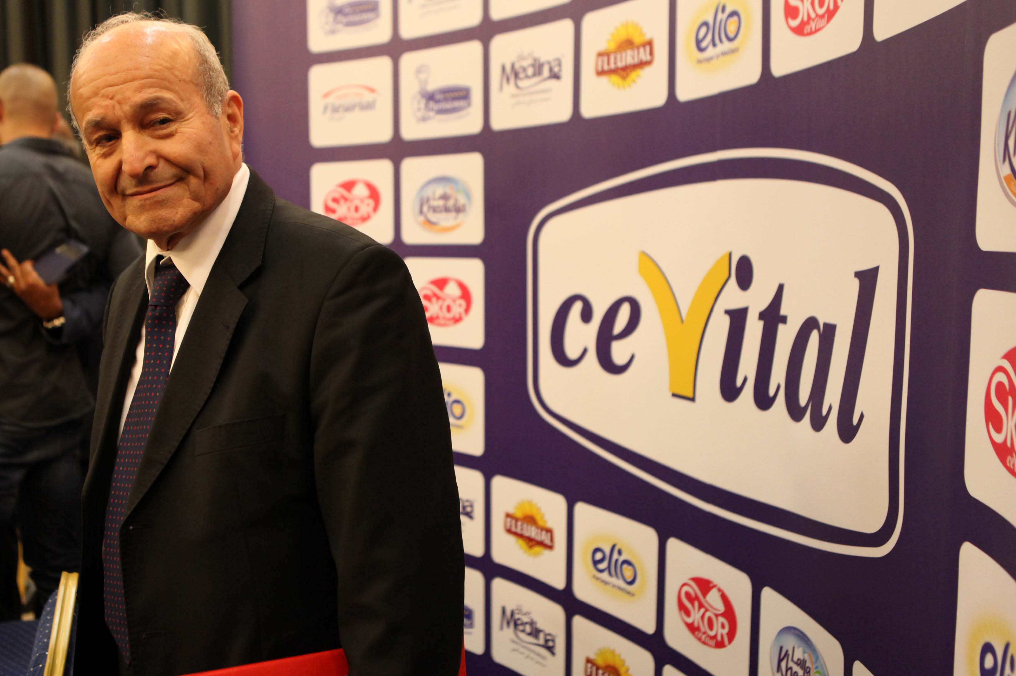 Issad Rebrab, PDG du groupe Cevital. New Press