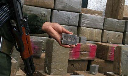 Plus de 8,5 tonnes de résine de cannabis saisies au premier trimestre en Algérie