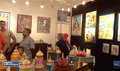 AP-TV à la galerie Dar El-Yasmine