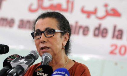 Plan d'action du gouvernement : Mme Hanoune appelle à accélérer la prise de «décisions effectives»