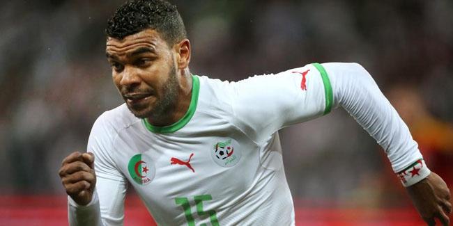 Hilal Soudani a marqué son 22e but en sélection nationale. D. R.