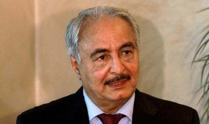 Haftar saborde les efforts de l'Algérie et se vend aux Saoudiens et aux Egyptiens