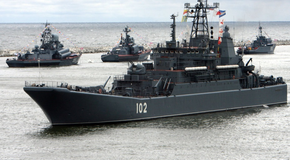 La marine russe tire sur daech Méditerranée orientale