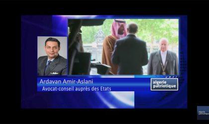 Interview de Maître Ardavan Amir-Aslani à Algeriepatriotique