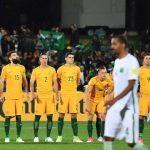 Lors du match avec l'équipe australienne. D. R.