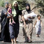 Des réfugiés syriens bloqués depuis plusieurs semaines. D. R.