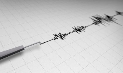 Secousse tellurique de magnitude 3,4 degrés à Tipasa