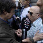 Saïd Bouteflika discutant avec Rachid Boudjedra. New Press