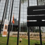 Siège de la direction générale de Sonatrach à Alger. New Press