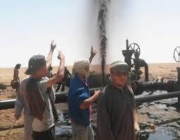 Le sit-in a dégénéré en heurts et bloqué la production de pétrole. D. R.