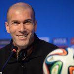 Zinédine Zidane. D. R.