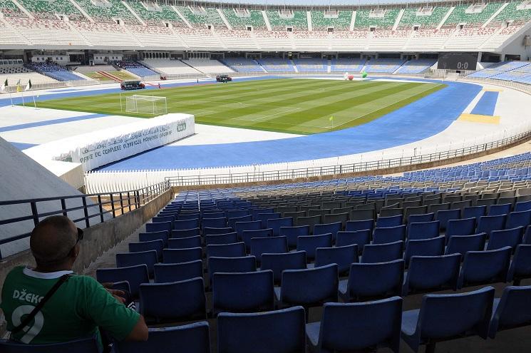 Le stade du 5-Juillet accueillera la finale de la Coupe d'Algérie mercredi. New Press