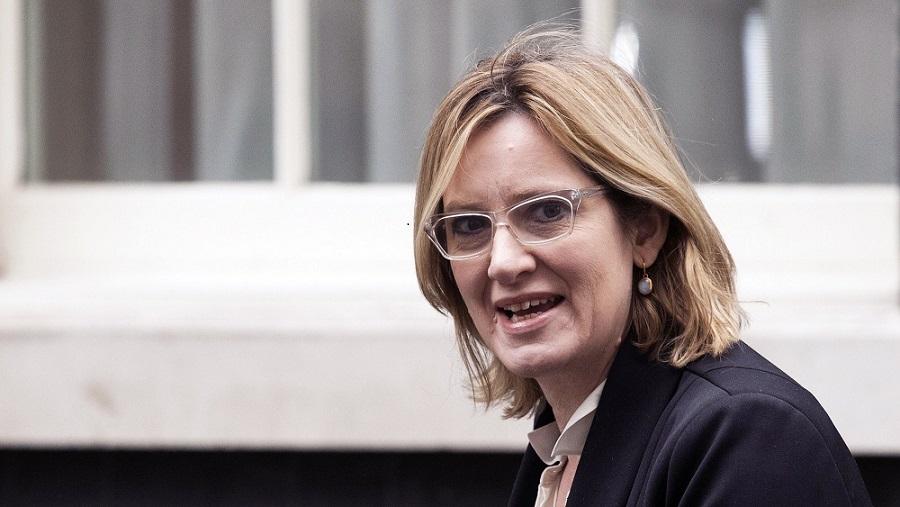 Amber Rudd, ministre britannique de l'Interieur. D. R.