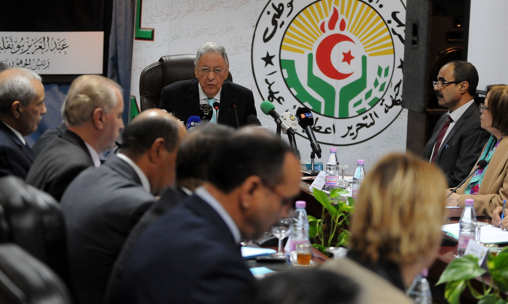 FLN, politique, Ould-Abbès, comité central
