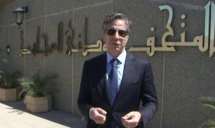 Le message de Antony Blinken lors de sa visite à Alger