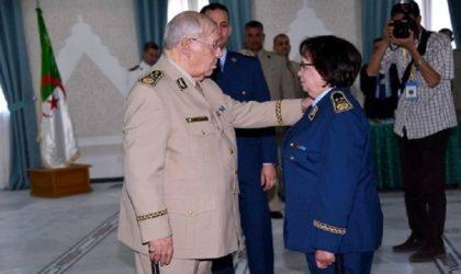 Armée nationale populaire : Boudouani Fatma première femme général-major