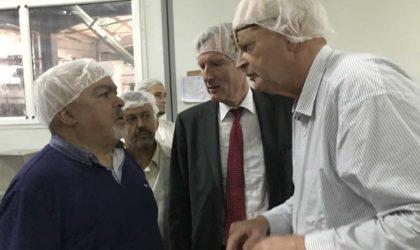 Le PDG de Soummam reçoit l'ambassadeur des Pays-Bas