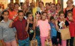 Le pape François reçoit des enfants sahraouis au Vatican