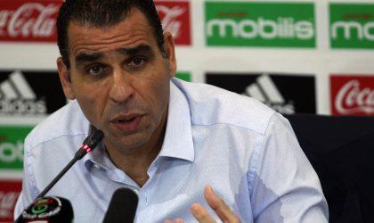Kheireddine Zetchi: «Le résultat d'un match ne peut sceller le sort du sélectionneur»