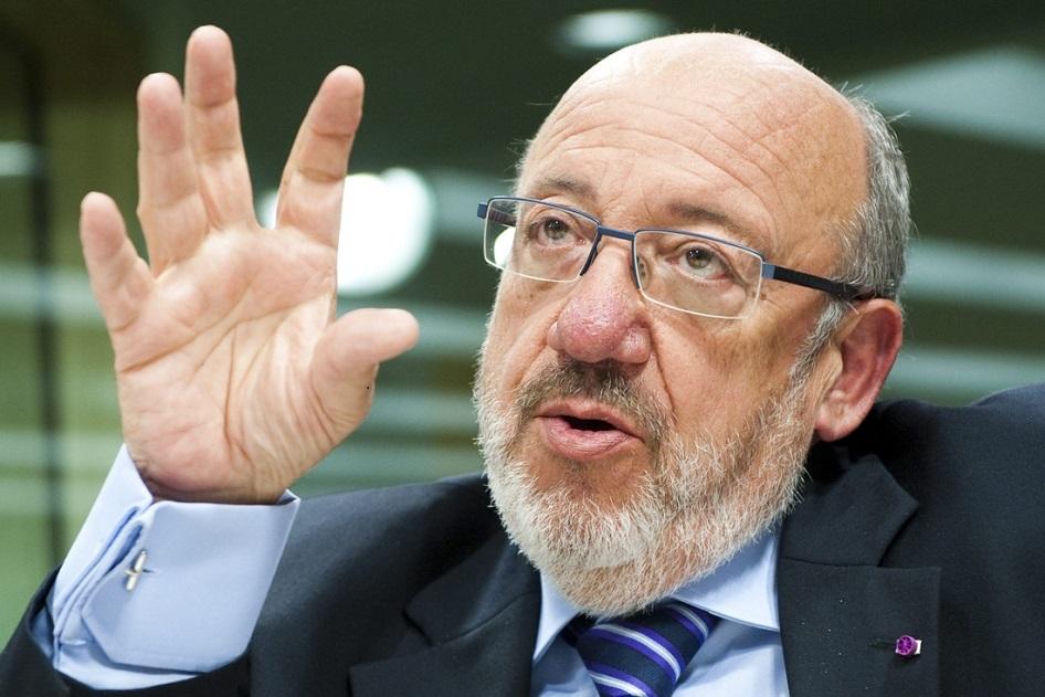le facilitateur Union européenne-Afrique Louis Michel. D. R.