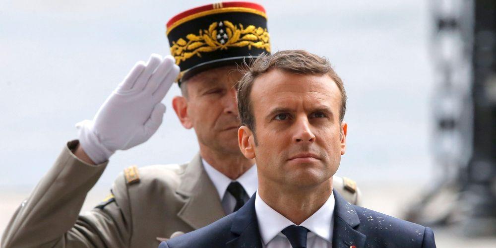 Macron, armée, France