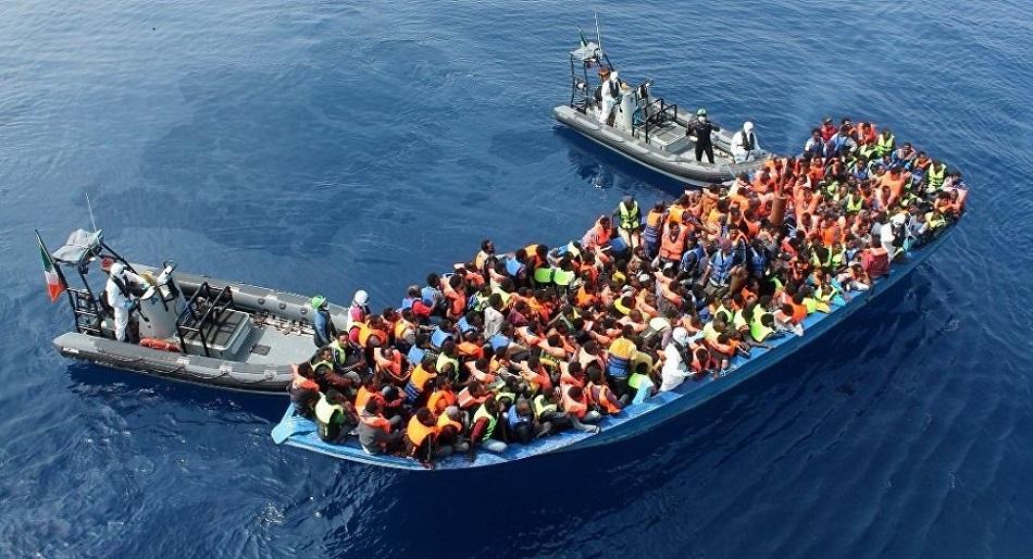 Opération de sauvetage en Méditerranée. D. R.