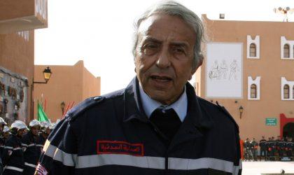 Feux de forêts : le DG de la Protection civile en inspection à Tizi Ouzou