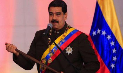Maduro: «Washington a déclenché un plan pour me renverser»