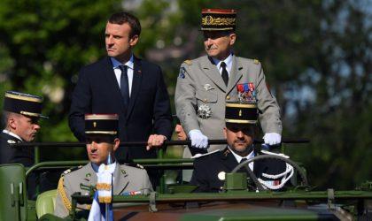 Le chef d'état-major de l'armée française met sa menace à exécution
