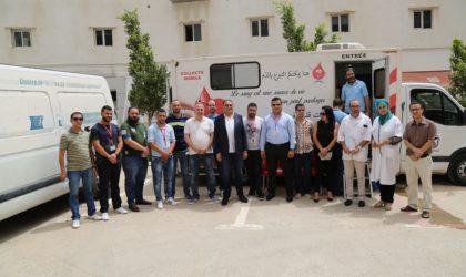 Les employés d'Ooredoo se mobilisent pour une opération de don de sang