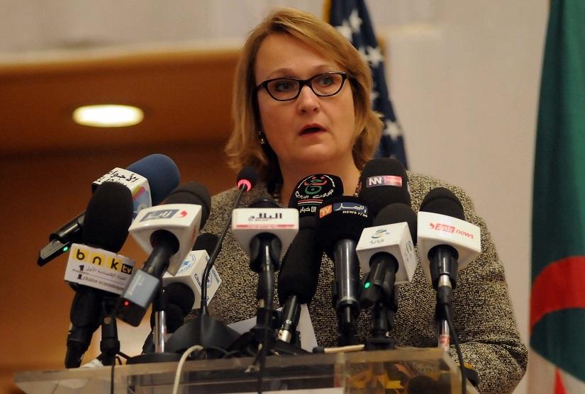 Polaschik ambassade des Etats-Unis en Algérie