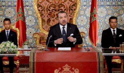 Le roi Mohammed VI sacrifie ses fonctionnaires pour sauver sa peau