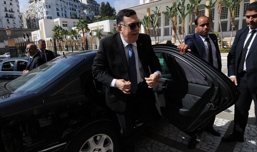 Al-Sarraj, Libye