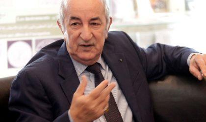 Tebboune préside un conseil interministériel consacré aux incendies de forêts