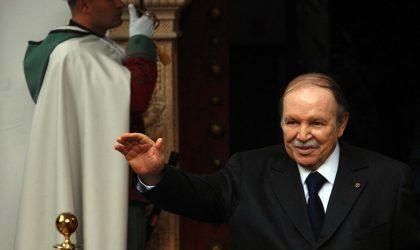 Le président Bouteflika réitère sa disponibilité à consolider la coopération algéro-française