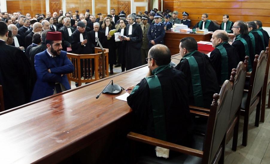 Le 20 mars, huitième audience des accusés dans les événements de Gdim Izik. D. R.